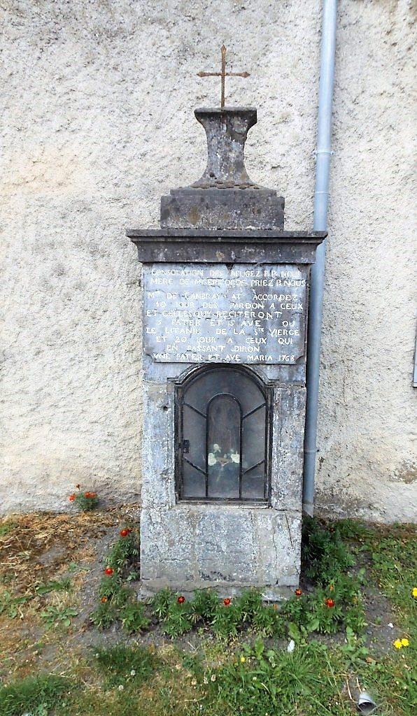 Oratoire N.D des Affligés et de Miséricorde (1768) Rue du Saule