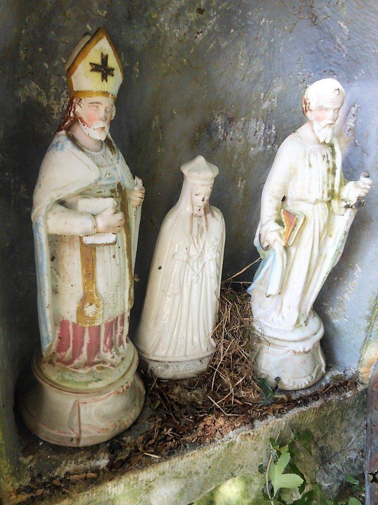 Niche de l'oratoire St Etton