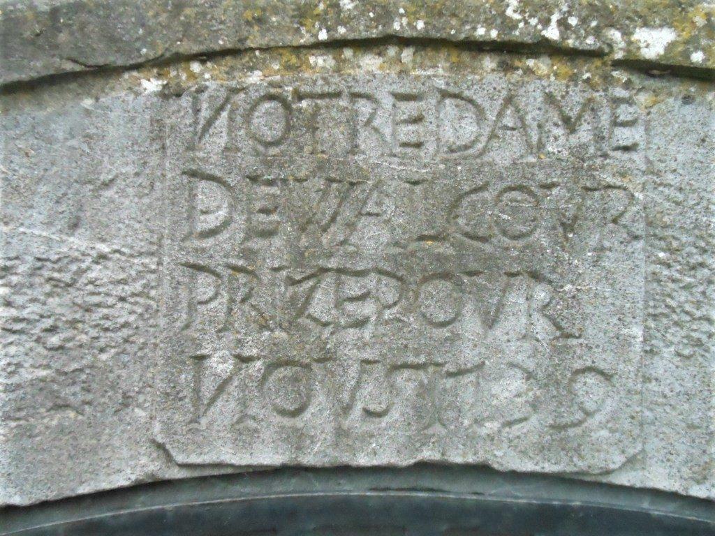 Notre Dame de Walcour prize pour nous 1739