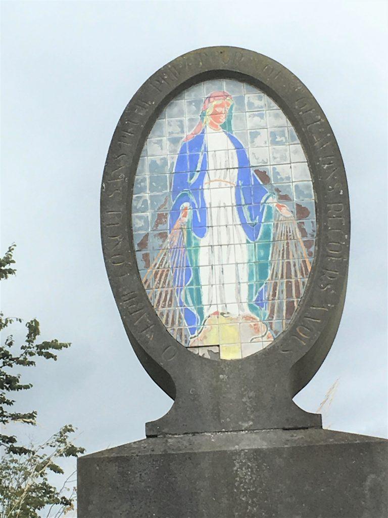 O Marie conçue sans péché priez pour nous qui avons recours à vous