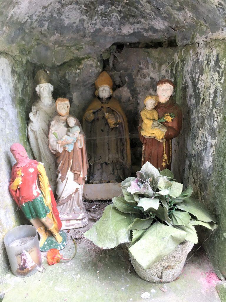 Niche de l'oratoire St Maurice