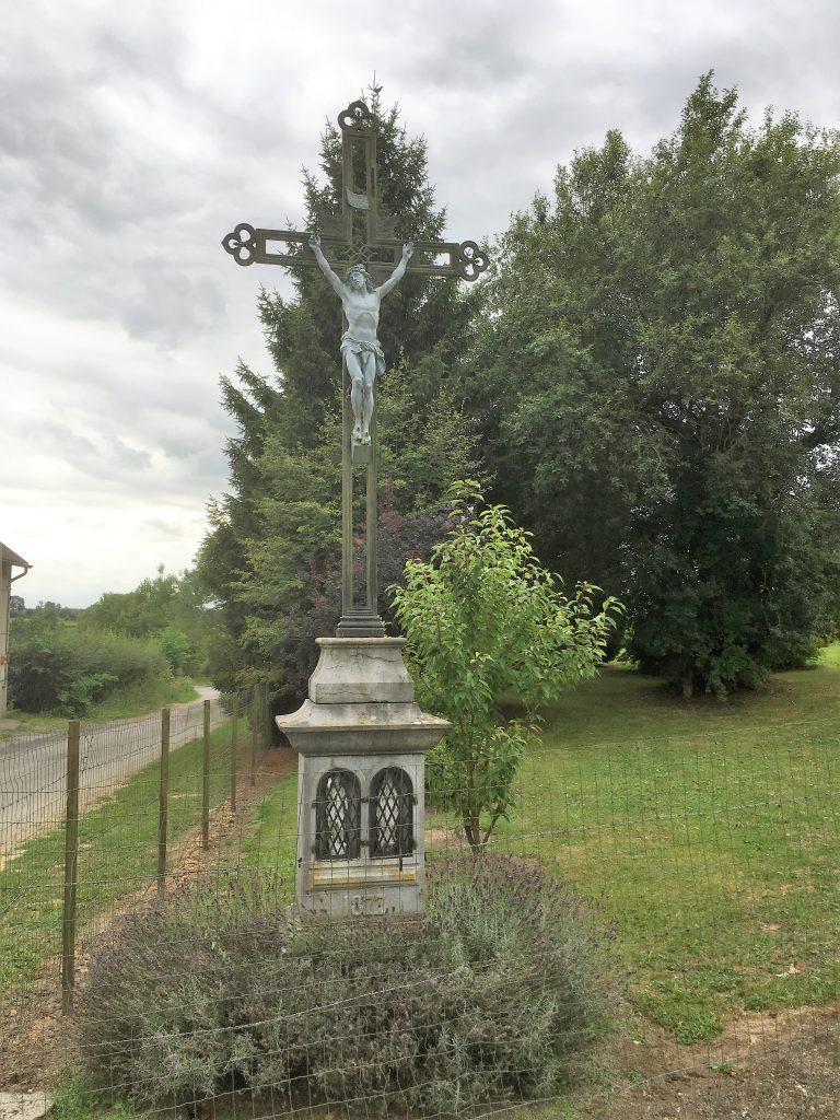 Calvaire Oratoire (1877). Route de Beaurepaire
