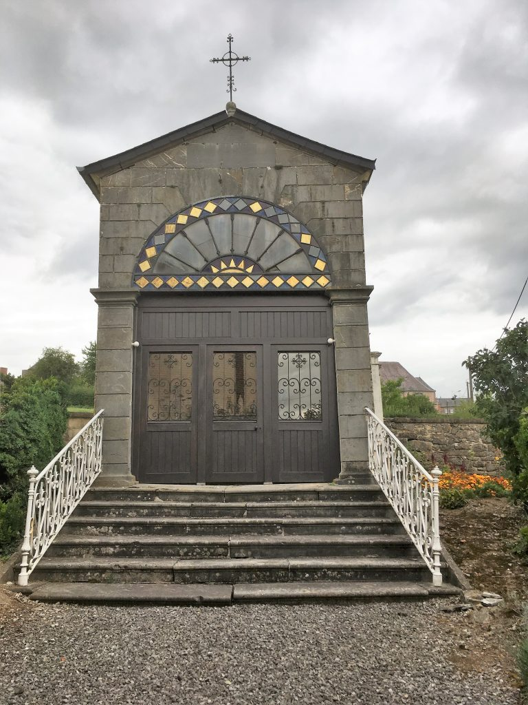 Chapelle de la Bienfaitrice des Pauvres. Route de Fontenelle
