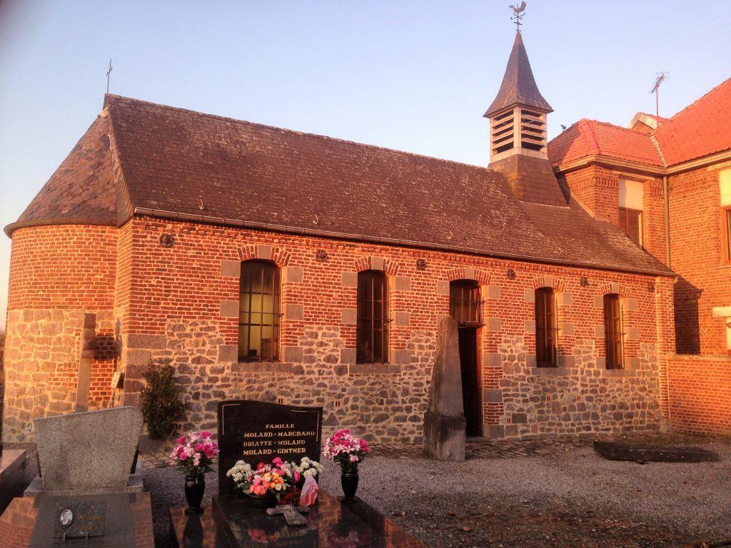 Chapelle St Roch. Rue du Faubourg de France