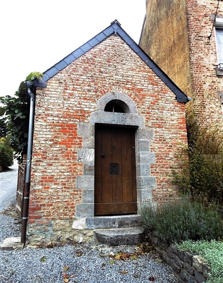 2.Sains-du-Nord chapelle St Guilain Ste Vierge et St Jean__ 1780 - rue du Dr.Chevalier