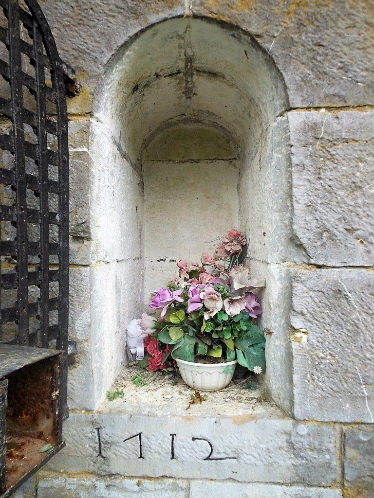 Niche de l'oratoire St Antoine de Padoue