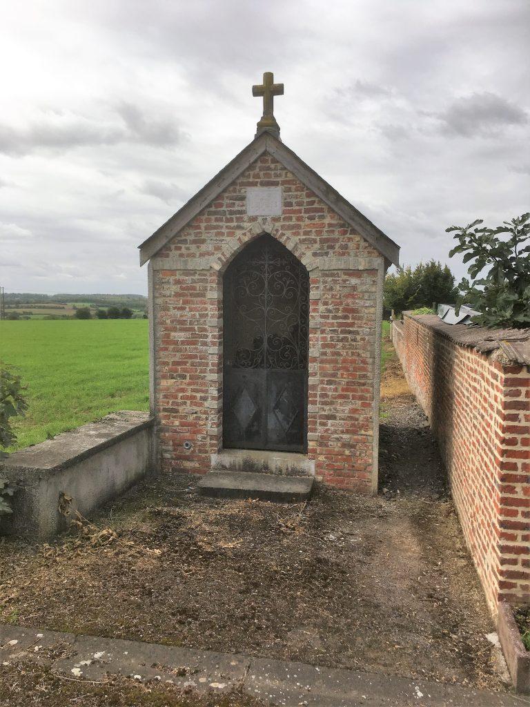 Chapelle N. D de Lourdes (1925). Route d'Aulnoye