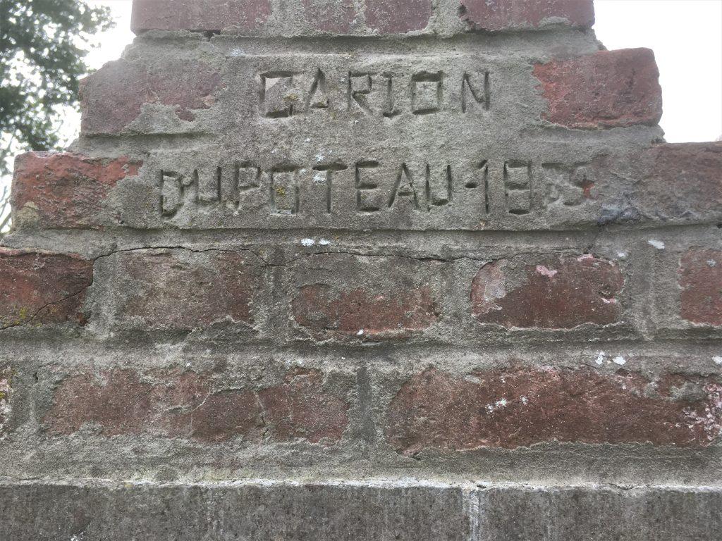 Carion Dupoteau 1935