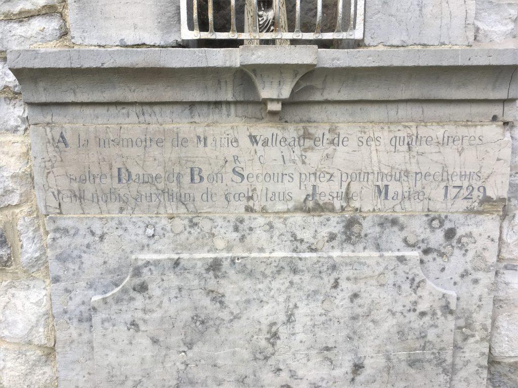 A la mémoire de Marie Watteau et de ses quatre frères......
