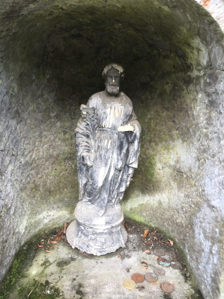Statue de St Ghislain