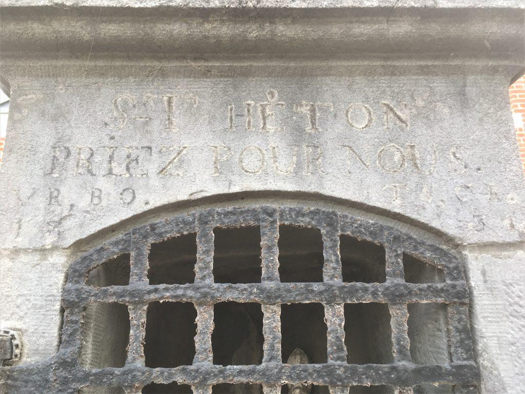 St Héton priez pour nous 1834