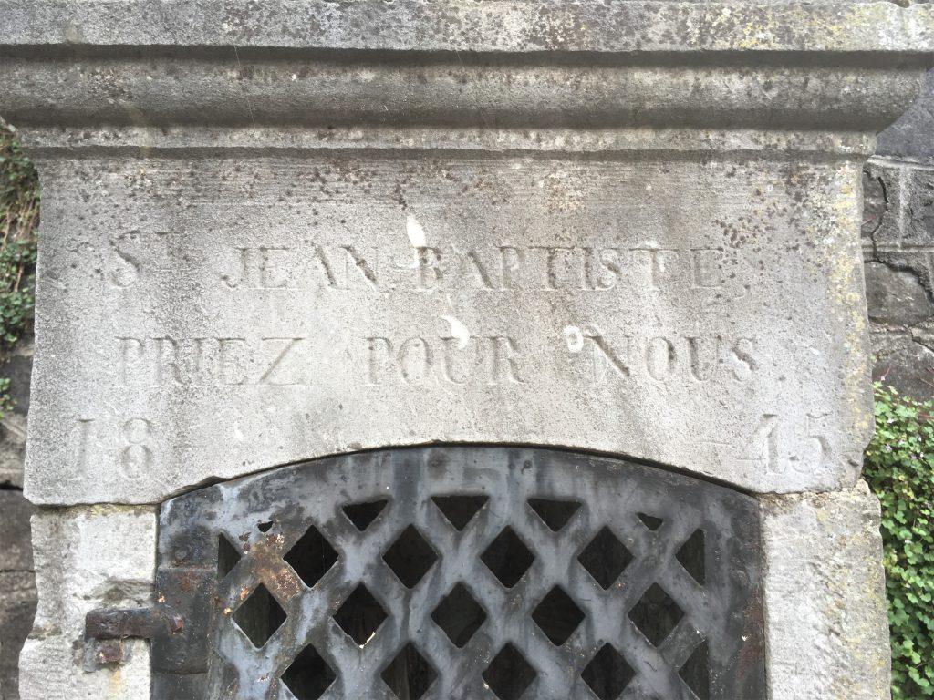 St Jean Baptiste priez pour nous 1845