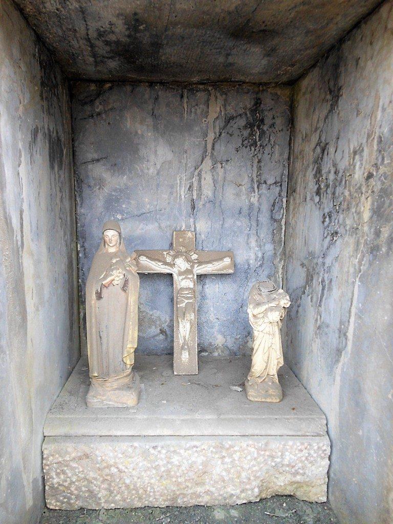 Niche de l'oratoire St Roch et St Hubert