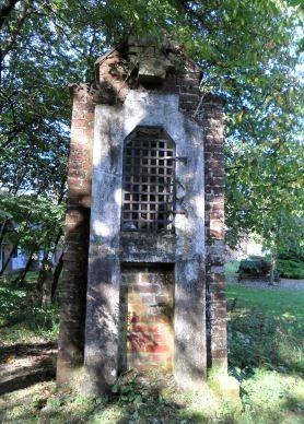 Oratoire St Roch détruit en 2012 suite à sa chute