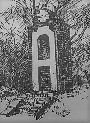 Dessin oratoire St Roch en 1985