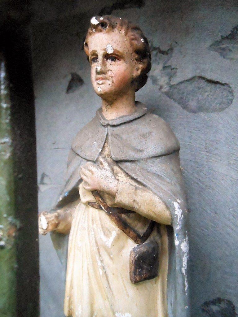 Statue dans l'oratoire St Roch