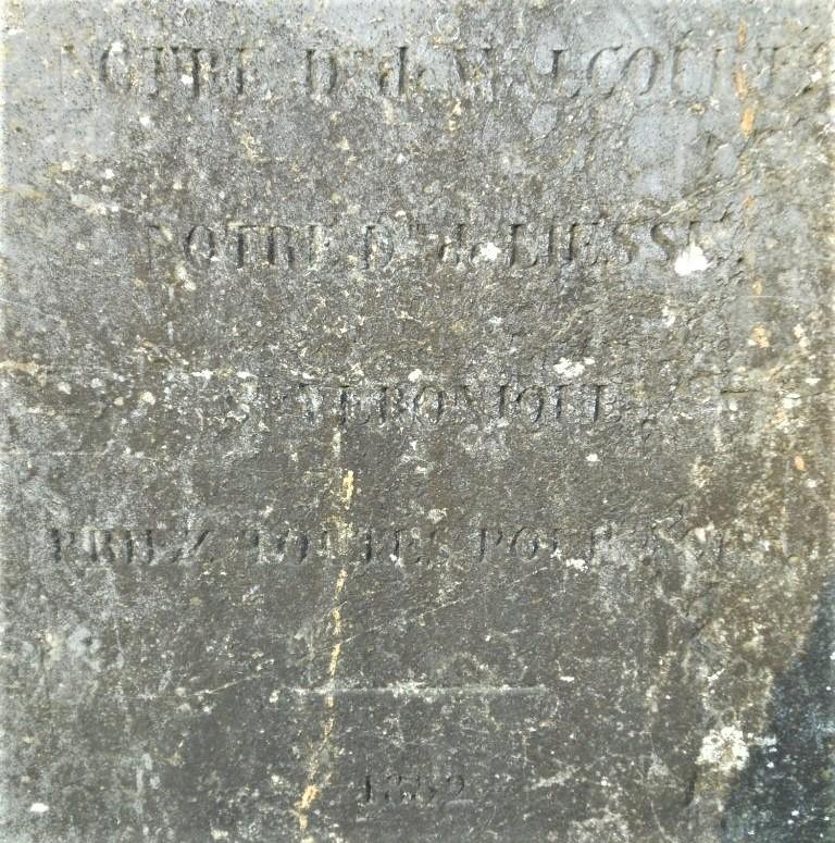 Notre D de Walcourt Notre D de Liesse Ste Véronique priez toutes pour nous 1852