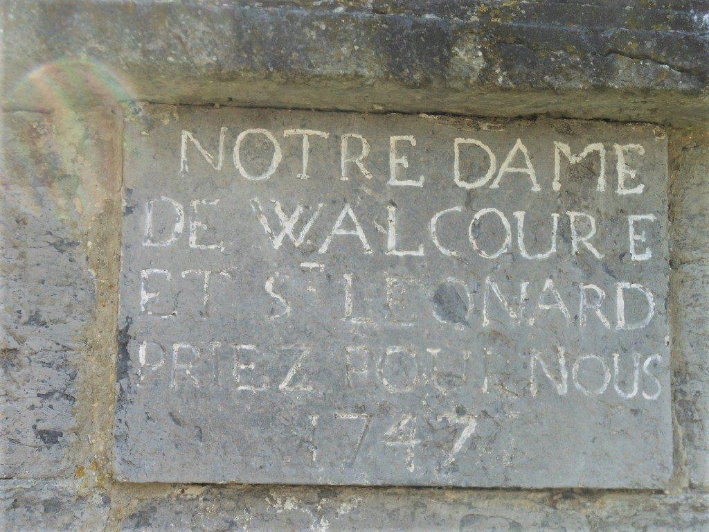 Notre Dame de Walcourt et St Léonard priez pour nous 1747