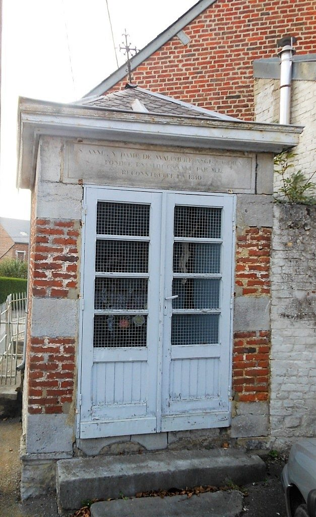 Chapelle Ste Anne,N.D de Walcourt et à l'Ange Gardien (1736 R1840). Rue Delval