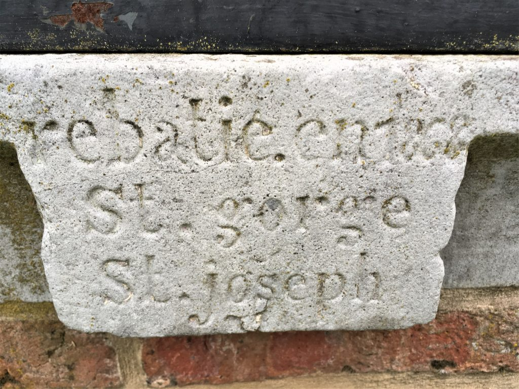 Rebatie en 1868 St Gorge St Joseph