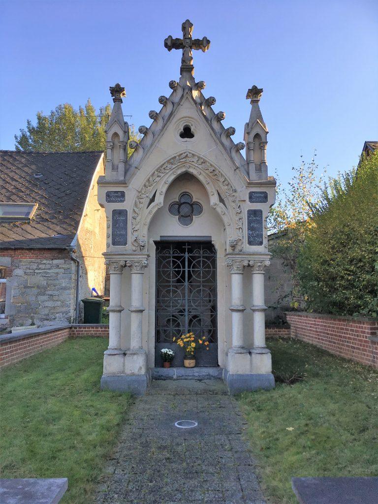Chapelle Ste-Face, St-Georges et St-Antoine (1887). Rue des Horbes.