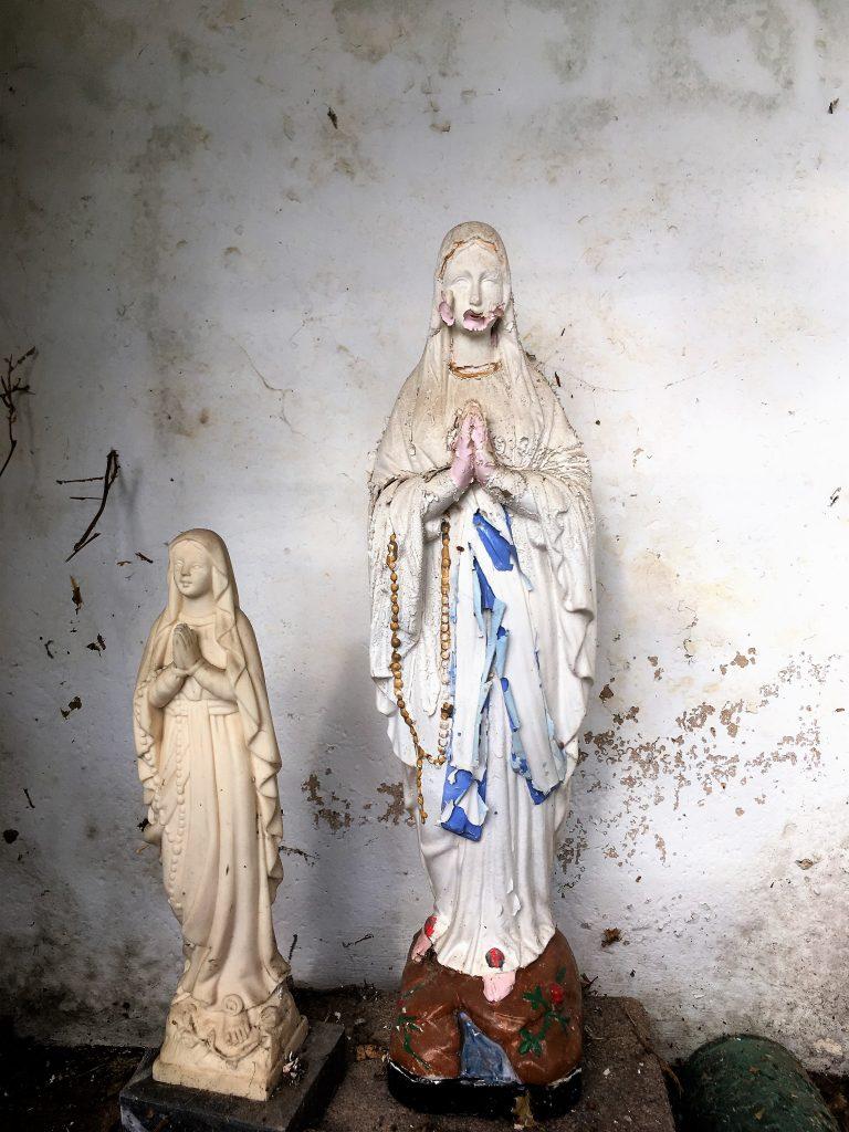 Niche de l'oratoire N.D de Lourdes