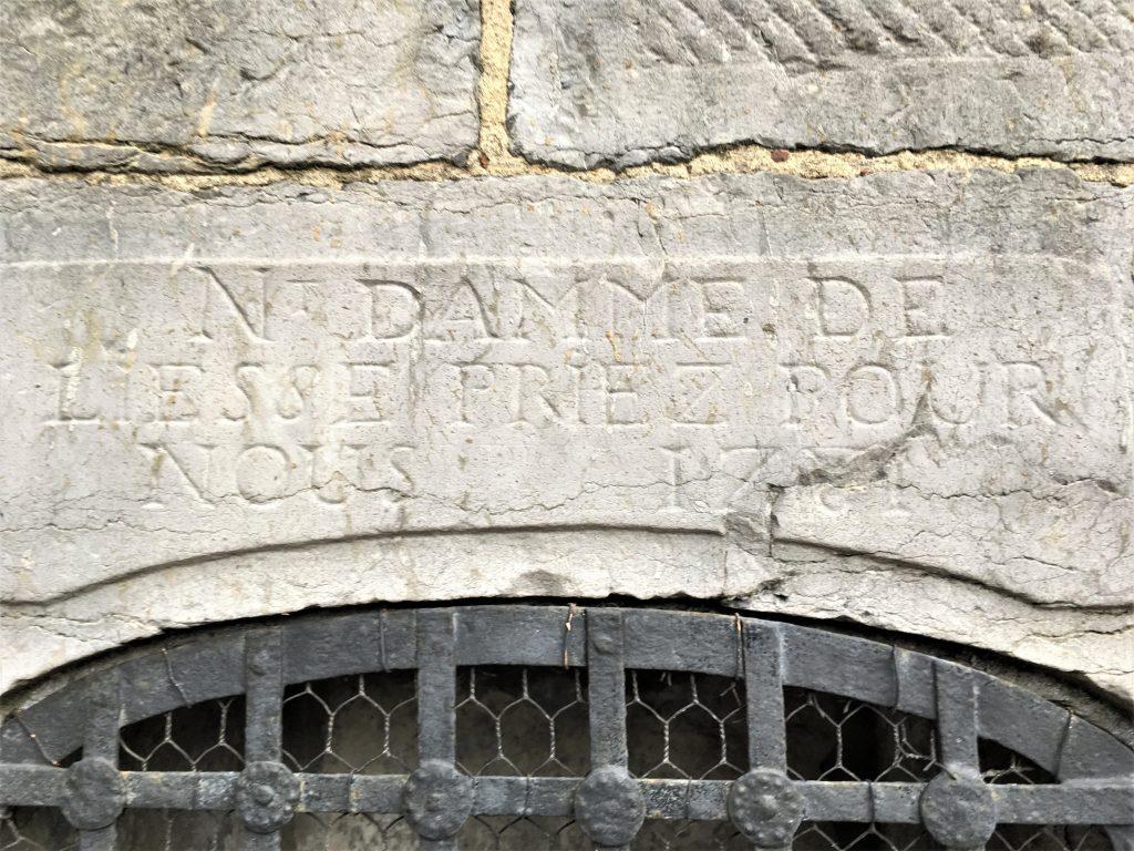 Nt Damme de Liesse priez pour nous 1781